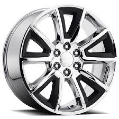 OE Creations PR168 Chrome wheel (22X9, 6x139.7, 78.30, 24 offset)