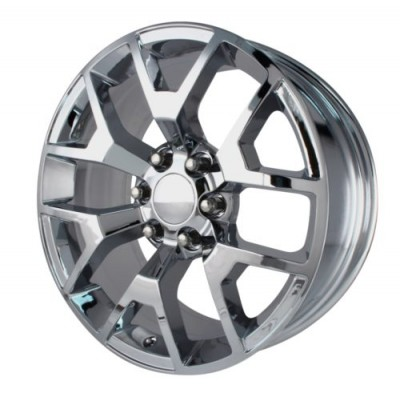 OE Creations PR169 Polished wheel (20X9, 6x139.7, 78.1, 27 offset)