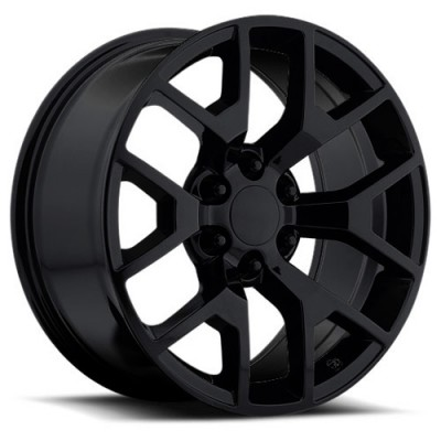 OE Creations PR169 Matte Black wheel (22X9, 6x139.7, 78.30, 27 offset)