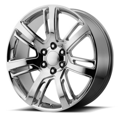 OE Creations PR171 Chrome wheel (22X9, 6x139.7, 78.30, 24 offset)