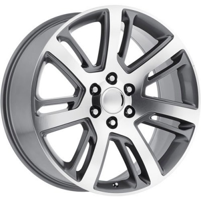 OE Creations PR171 Machine Gunmetal wheel (22X9, 6x139.7, 78.30, 24 offset)