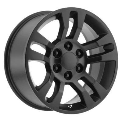 OE Creations PR175 Satin Black wheel (18X8, 6x139.7, 78.30, 24 offset)