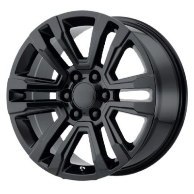 OE Creations PR182 Gloss Black wheel (20X10, 6x139.7, 78.1, 24 offset)