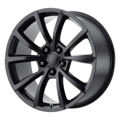 OE Creations PR184 Satin Black wheel (20X9, 5x127, 71.5, 34 offset)