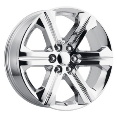 OE Creations PR191 Chrome wheel (22X9, 6x139.7, 78.1, 24 offset)