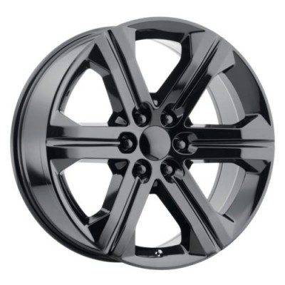 OE Creations PR191 Gloss Black wheel (22X9, 6x139.7, 78.1, 24 offset)