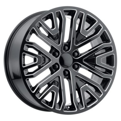 OE Creations PR197 Gloss Black wheel (22X9, 6x139.7, 78.1, 28 offset)