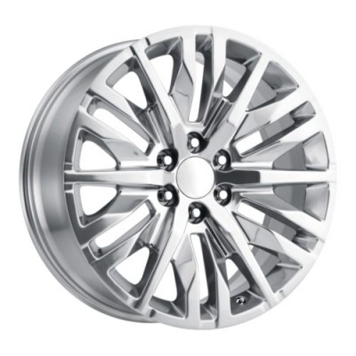 OE Creations PR198 Polished wheel (22X9, 6x139.7, 78.1, 28 offset)