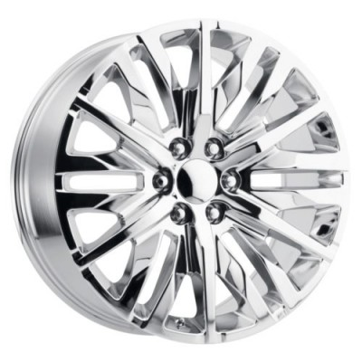 OE Creations PR198 Chrome wheel (22X9, 6x139.7, 78.1, 28 offset)