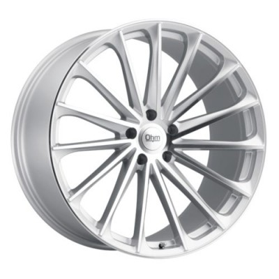 Ohm Wheels PROTON Silver wheel (18X8.5, 5x120, 64.1, 30 offset)
