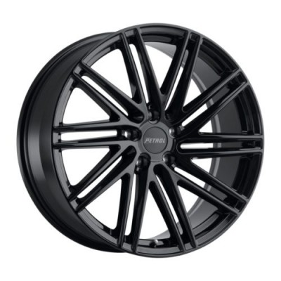 Petrol Wheels P1C Gloss Black wheel (17X8, 5x108, 72.1, 40 offset)
