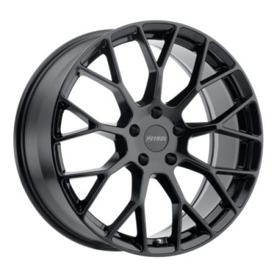 Petrol Wheels P2B Gloss Black wheel (15X7, 4x114.3, 73.1, 40 offset)