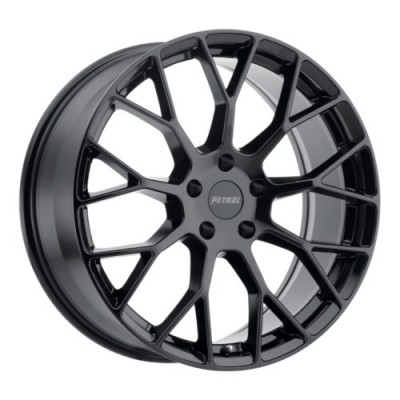 Petrol Wheels P2B Gloss Black wheel (16X7, 5x100, 72.1, 40 offset)