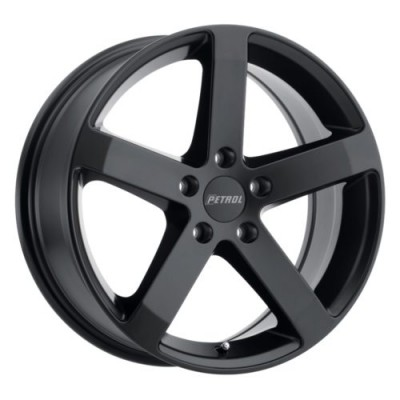 Petrol Wheels P3B Matte Black wheel (15X6.5, 5x114.3, 76.1, 38 offset)