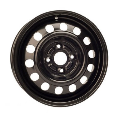 PMC Steel Wheel Black wheel | 14X6, 4x100, 54.1, 45 offset