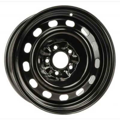 PMC Steel Wheel Black wheel | 16X7, 5x114.3, 70.3, 12 offset