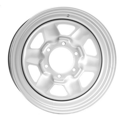 PMC Steel Wheel Silver wheel (16X7, 6x139.7, 108, 15 offset)
