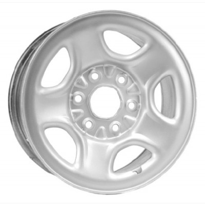PMC Steel Wheel Silver wheel (16X7, 6x139.7, 78.1, 28 offset)