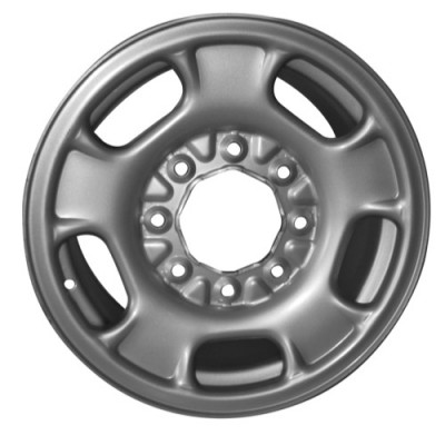 PMC Steel Wheel Silver wheel (17X8, 8x180, 124, 43 offset)