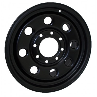 PMC Steel Wheels Black wheel (18X8, 8x180, 124.1, 25 offset)