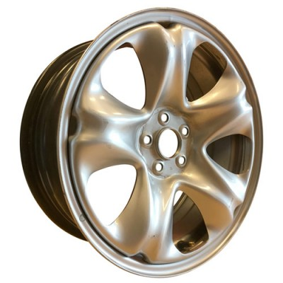 PMC Steel Wheels Silver/Argent, 17X7, 5x100 ,(déport/offset 40 ) 56.1 , Subaru, oe Take-off/de démonstrateur