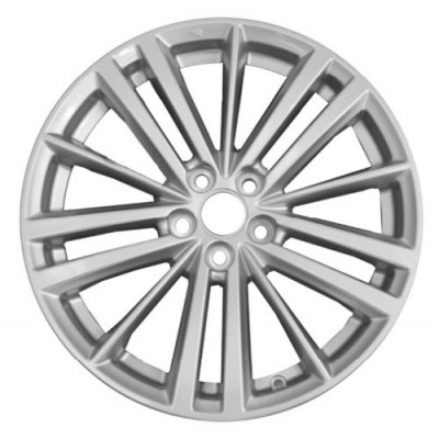 PMC OEM Replica Silver wheel (17X7, 5x100, 56.1, 35 offset)