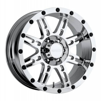 Pro Comp Series 31 Chrome Plated wheel (17X9, 8x170, 130.1, -6 offset)
