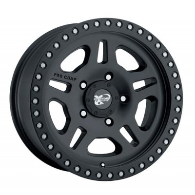 Pro Comp Series 7028 Matte Black wheel (17X8.5, 5x114.3, 130.1, 0 offset)