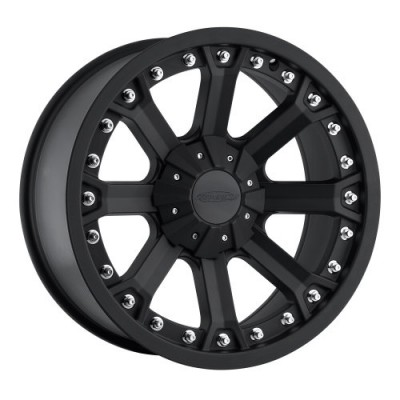 Pro Comp Series 33 Matte Black wheel (17X9, 6x139.7, 130.1, -6 offset)