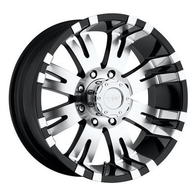 Pro Comp Series 01 Gloss Black wheel (17X9, 8x165.1, 130.1, -7 offset)
