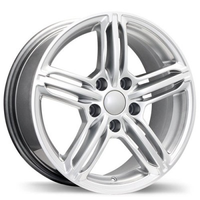 Replika Wheels R133A Hyper Silver wheel (16X7, 5x112, 66.5, 35 offset)