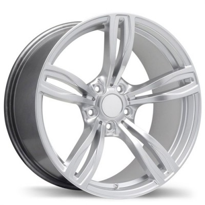 Replika Wheels R141A Hyper Silver wheel (16X7, 5x120, 72.6, 35 offset)