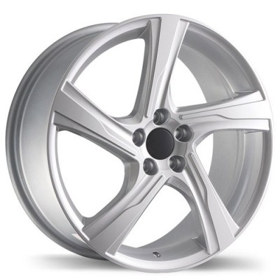 Replika Wheels R143 Hyper Silver wheel (18X8, 5x108, 65.1, 45 offset)