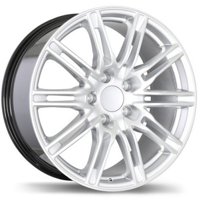 Replika Wheels R158 Hyper Silver wheel (18X8, 5x130, 71.6, 50 offset)