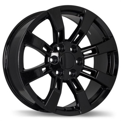 Replika Wheels R160 Black wheel (20X8.5, 6x139.7, 78.1, 31 offset)