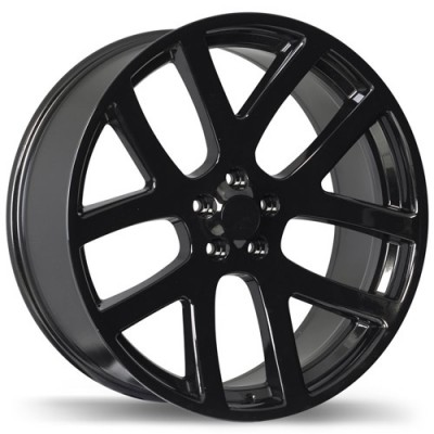 Replika Wheels R161A Black wheel (20X9, 5x115, 71.5, 20 offset)