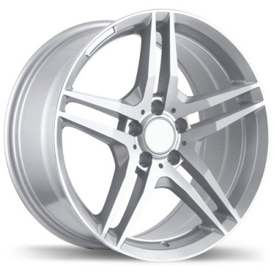 Replika Wheels R170 Hyper Silver wheel (17X8, 5x112, 66.5, 32 offset)