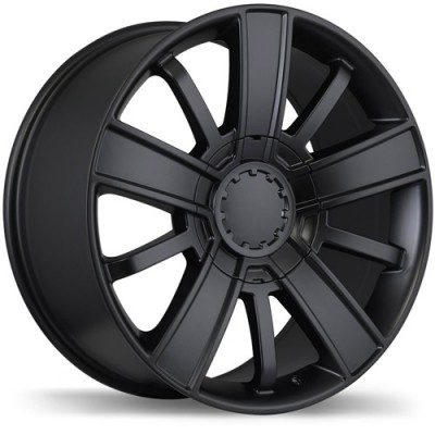 Replika Wheels R175 Satin Black wheel (20X9, 6x139.7, 78.1, 27 offset)
