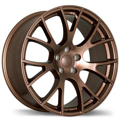 Replika Wheels R179A Bronze/Bronze, 20X9.5, 5x115, (offset/déport 18 ) 71.5 Dodge