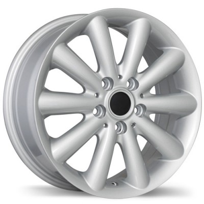 Replika Wheels R181 Hyper Silver wheel (16X6.5, 5x112, 66.6, 54 offset)