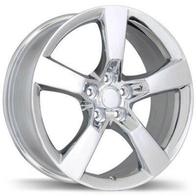 Replika R129B Chrome wheel (20X9, 5x120, 67.1, 40 offset)