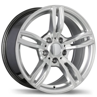 Replika R141A Hyper Silver wheel (18X9, 5x120, 72.6, 25 offset)