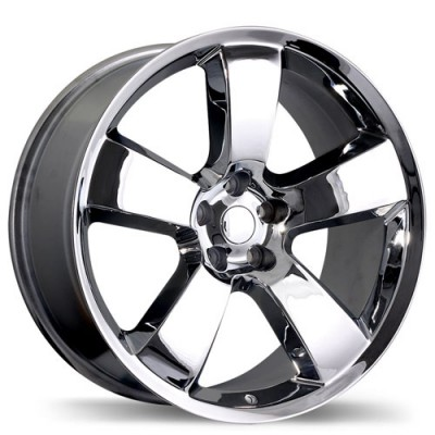 Replika R145 Chrome wheel (20X9, 5x115, 71.5, 20 offset)