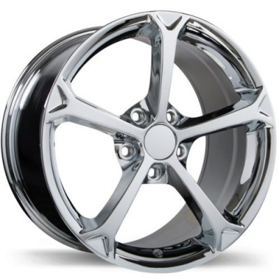 Replika R147 Chrome wheel (17X8.5, 5x120.65, 70.3, 49 offset)