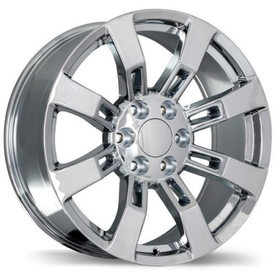 Replika R160 Chrome wheel (20X8.5, 6x139.7, 78.1, 31 offset)