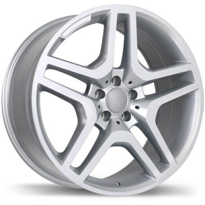 Replika R173A Polished wheel (19X8.5, 5x112, 66.5, 45 offset)