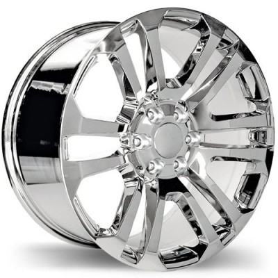 Replika R178 Chrome wheel (22X9, 6x139.7, 78.1, 24 offset)