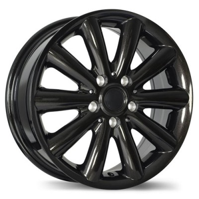 Replika R181 Black wheel (17X7.5, 5x112, 66.6, 54 offset)