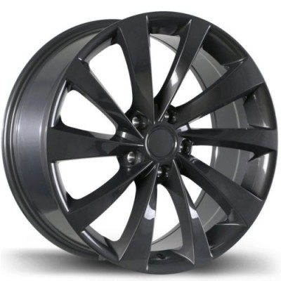 Replika R187 Gun Metal wheel (19X8.5, 5x114.3, 70.2, 40 offset)