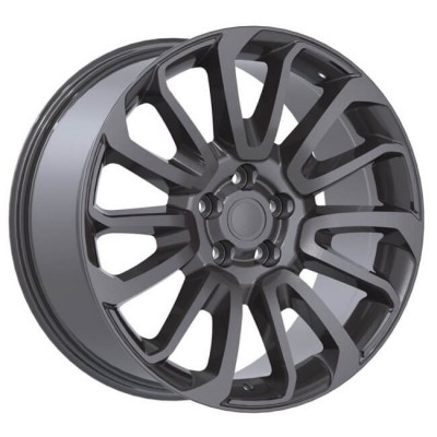Replika R190A Gun Metal wheel | 22X9.5, 5x120, 72.6, 45 offset